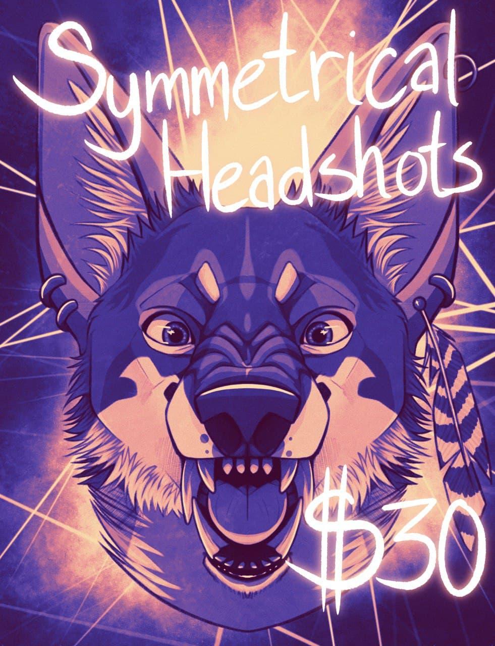Symmetrical Headshot Sale!