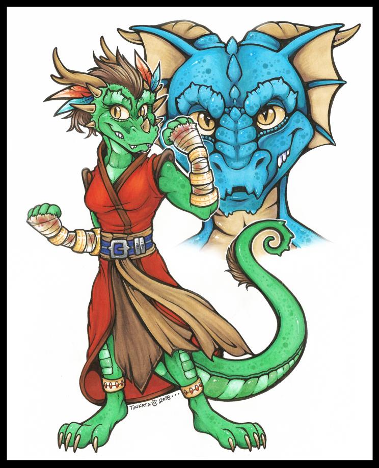 Jade & Trogdor