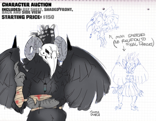 CHARACTER AUCTION