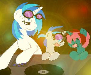 MLP:Teaching to DJ