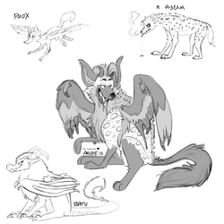character hybridization for Phox