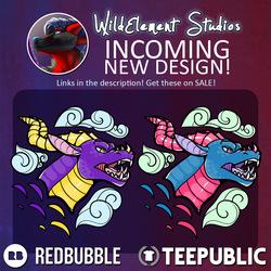 New Design - Dragons!