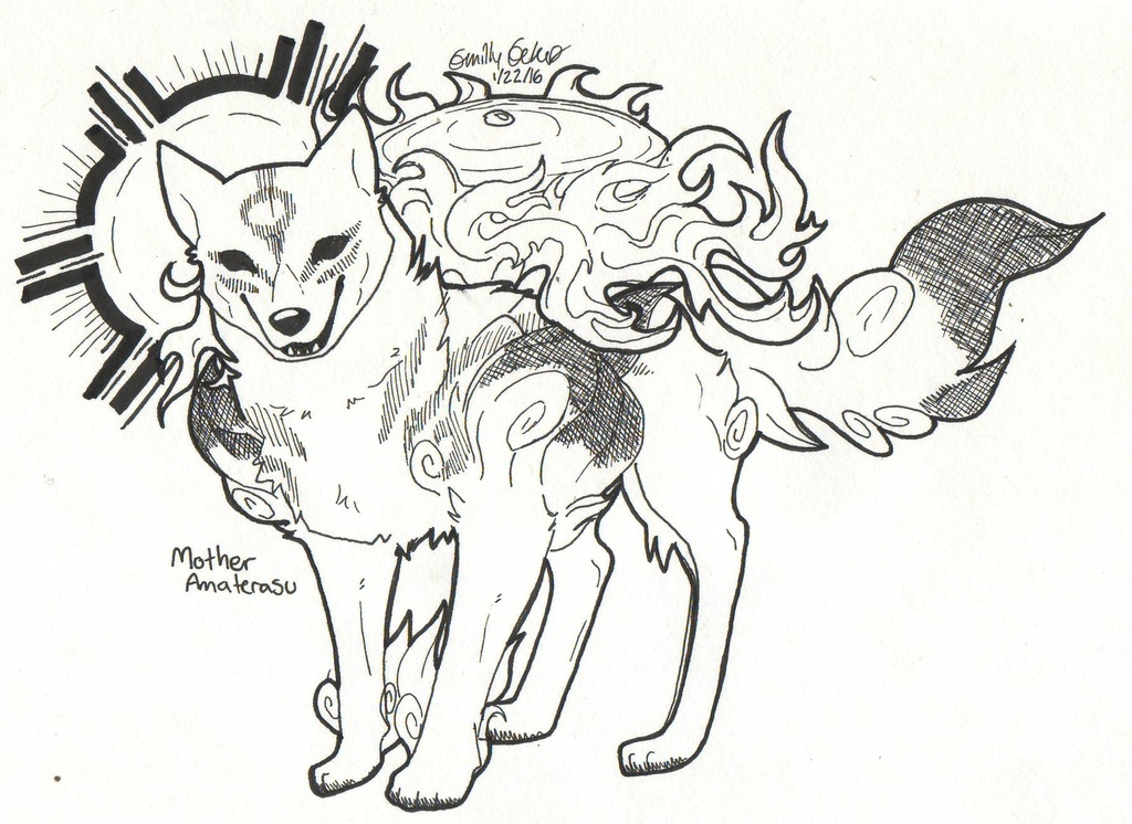 Most recent image: Mother Amaterasu