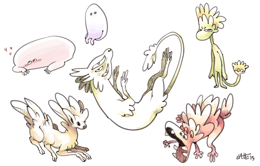 some small friends