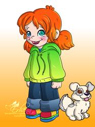 Maggie and Cubitus