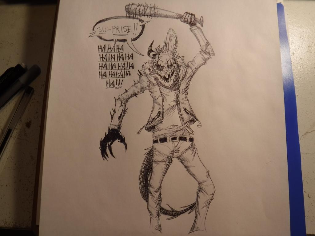 """[ INKTOBER #11 : """" CRUEL """""""