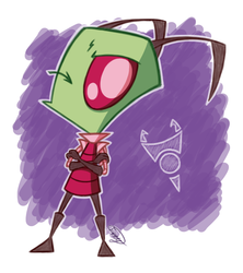Zim-Zam Coloured Sketch
