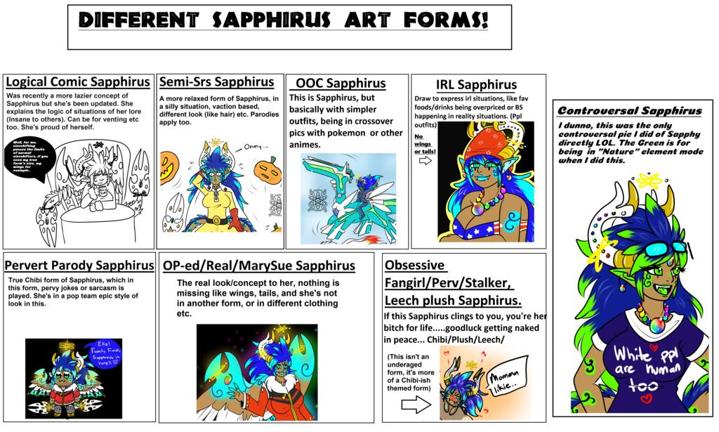 Sapphirus Art looks +updated+