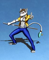 Rinji's Battle Stance
