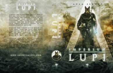 Imperium Lupi - Book Jacket by Mike Nash
