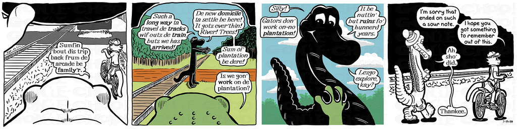 Gon' E-Choo! Strip 76 (www.gonechoo.com)