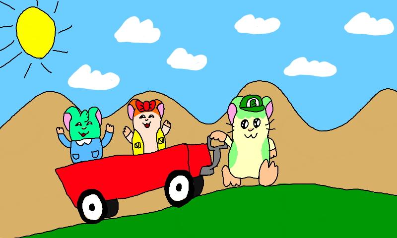 A Wagon Ride