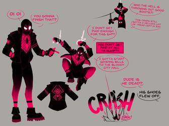 Pink Spidergoon