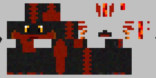 Minecraft Skin Comission Wrte The Dazzle Bat Weasyl