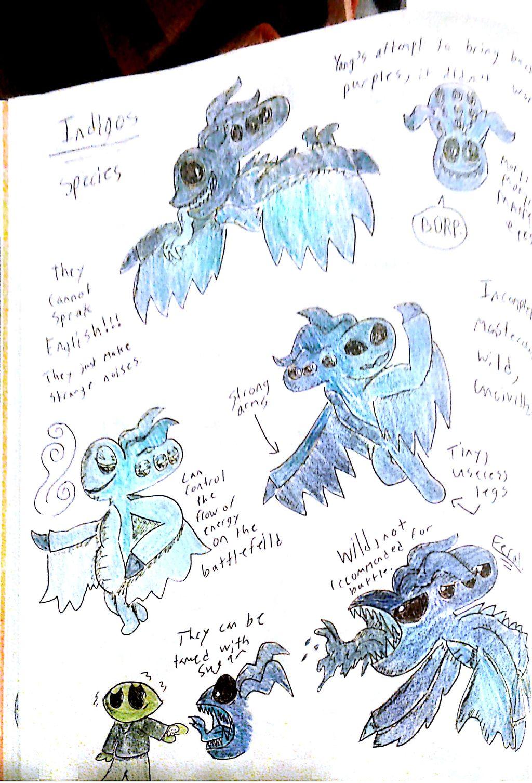 Indigos (Alien Species)