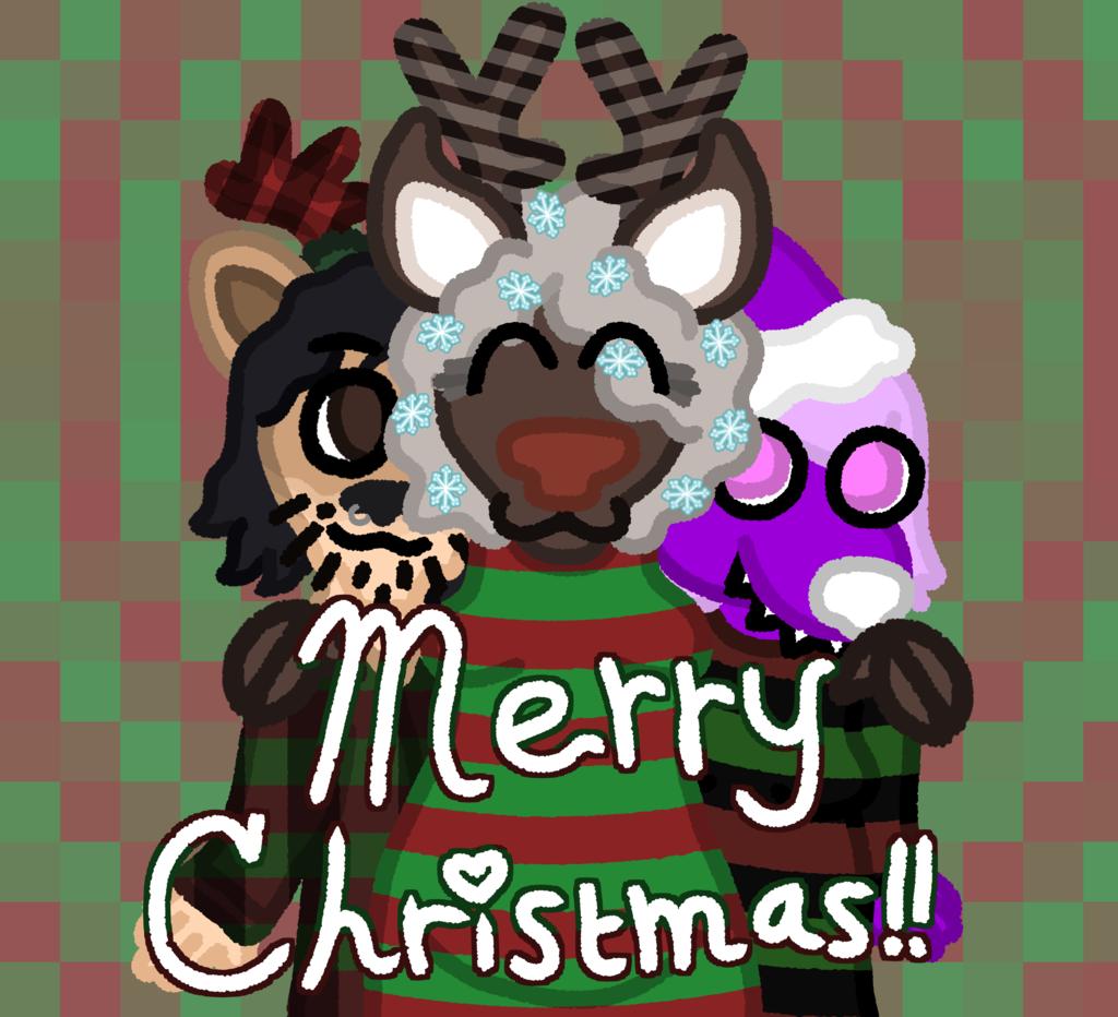 Reindeer with Christmas Sweethearts!!