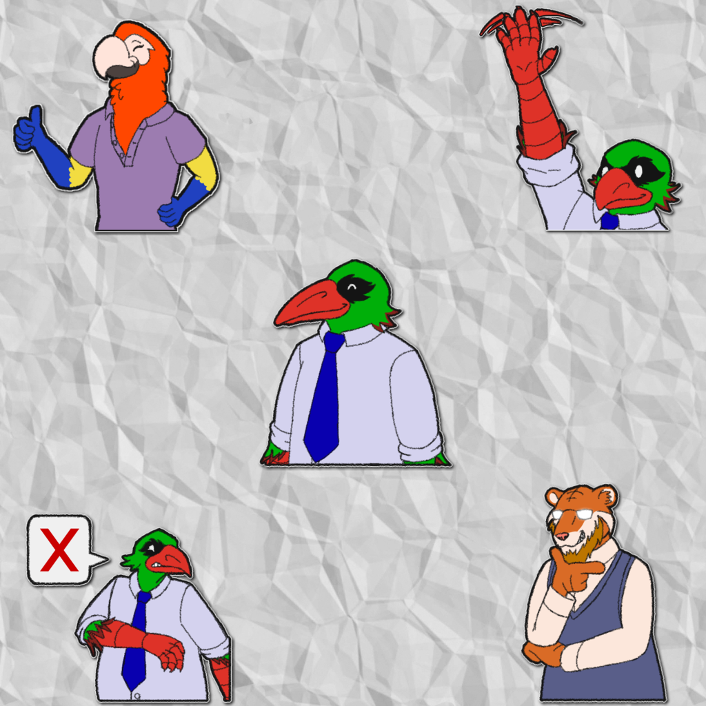 Most recent image: Scironex's Telegram Stickers