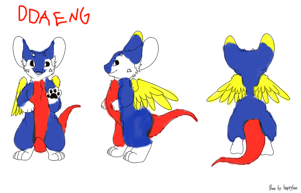 Ddaeng the Angel Dragon Adopt