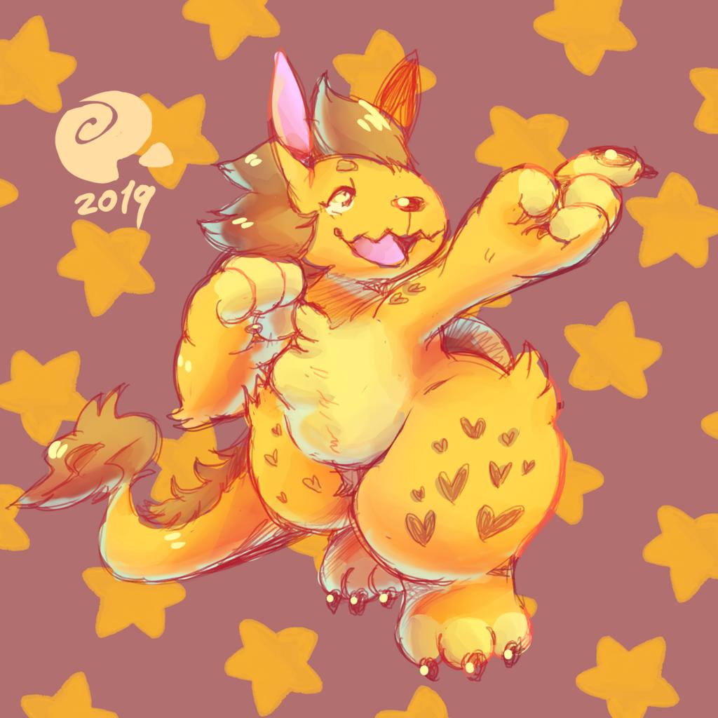 Nuzzle is a star boy