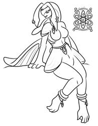 Female Zora +Commision WIP+