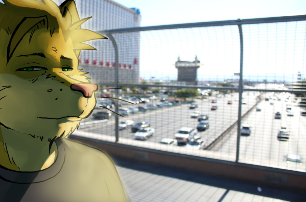 Vegas is uncomfortably bright