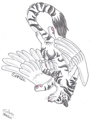 Giftart: Winged Tigress