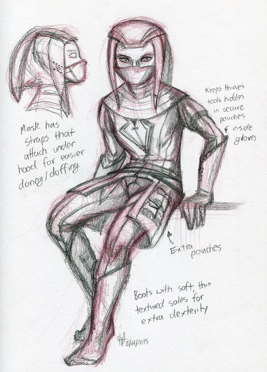 Tenebra armor study