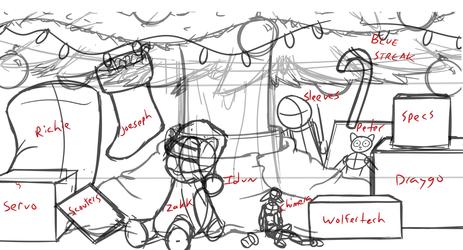 Christmas Presents Group TF Sketch!