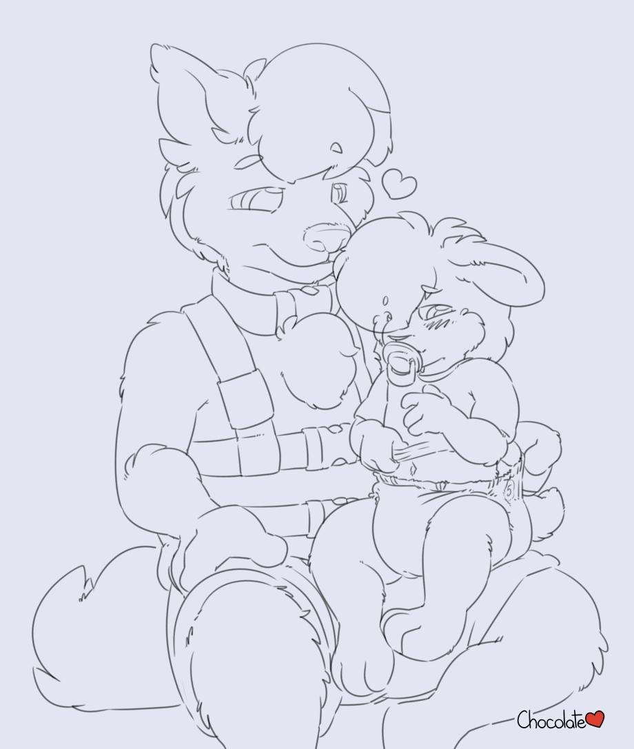 Wolfie's Streams - Baby Bunsitting Puppy