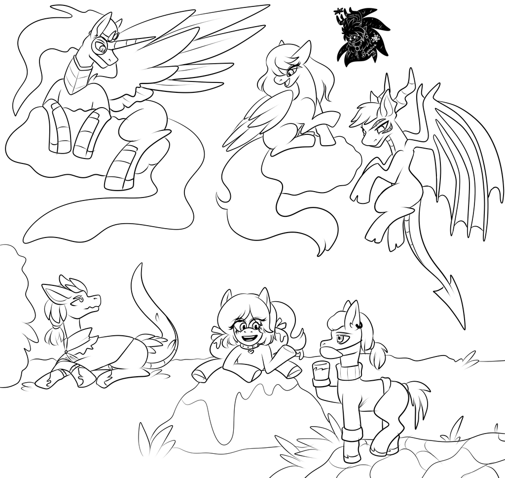 MLP OC time +Commission WIP+