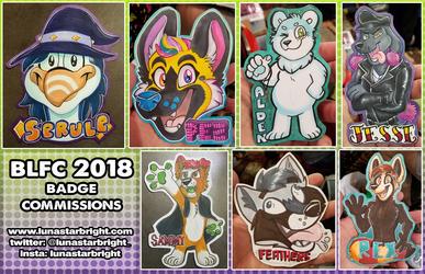 BLFC 2018 - Badge Commissions