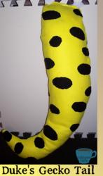 Gecko tail for Duke