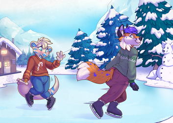 Playing on the Ice