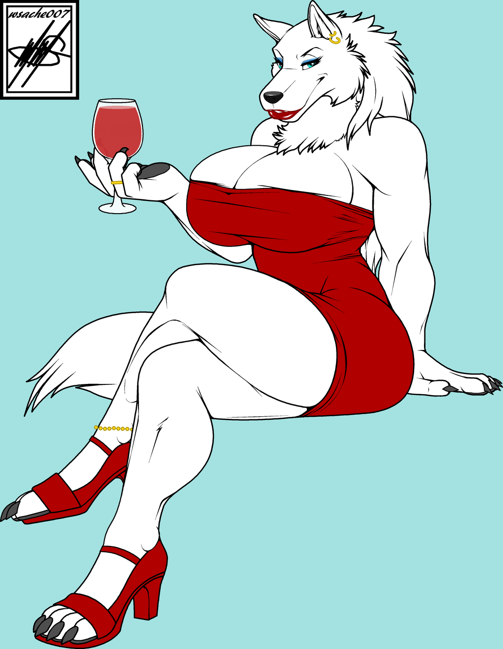 Most recent image: White Wolf Color (credit)