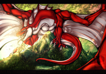 King of the mountain -commission-