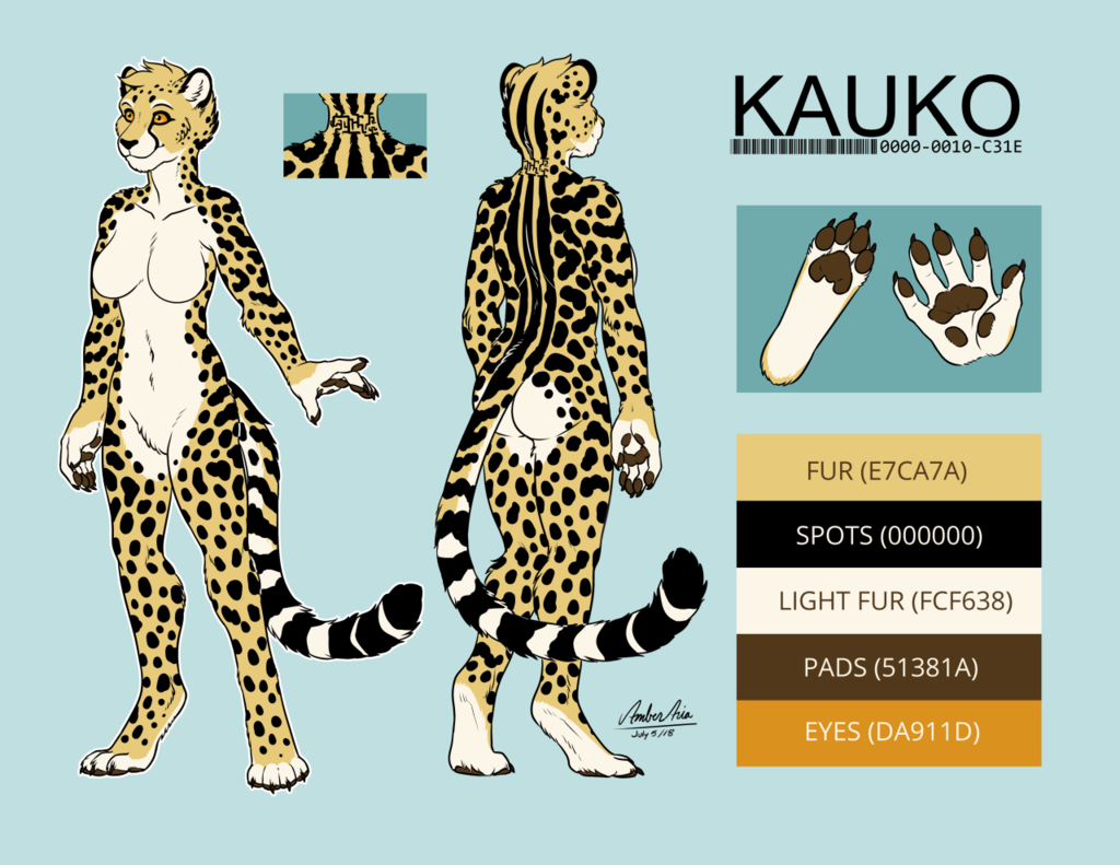 Kauko king cheetah ref v3 [Side A] by Amber-Aria
