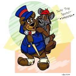 Have a Safe Trip Spats! ♥