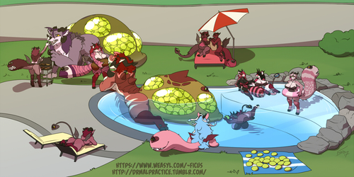 Joint Hive Pool Party