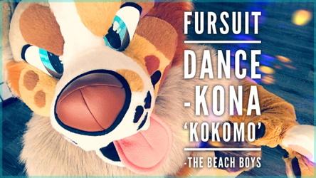 Fursuit Dance / Kona / 'Kokomo' //
