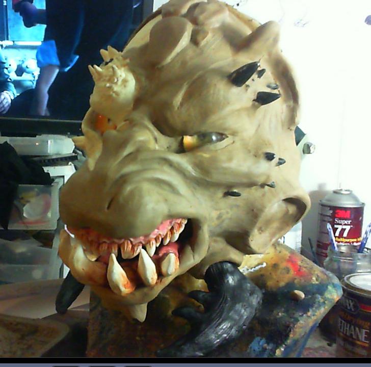 Kathoga WIP(Rough skin/shaping sculpt)