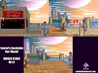 A Look at a Stage Develpoment W.I.P. [MUGEN]