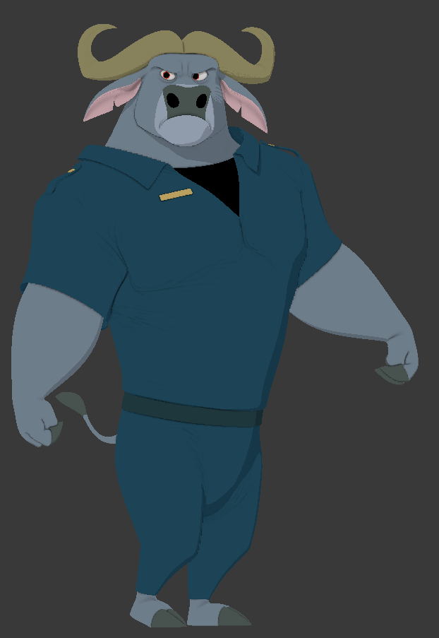 Chief Bogo WIP