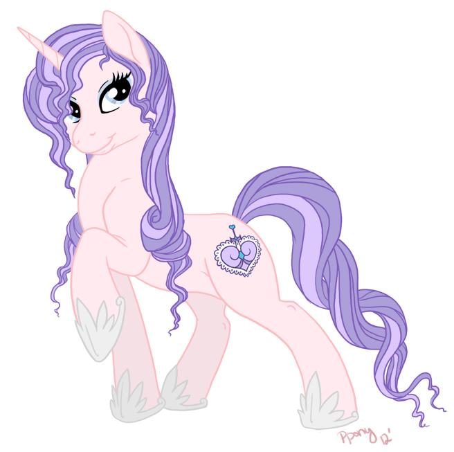 Commission: Lace pony