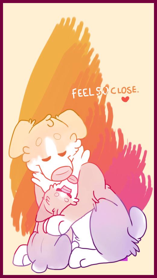 feel so close.
