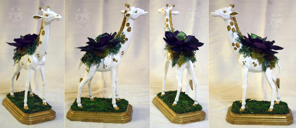 Giraffe Planter Centerpiece