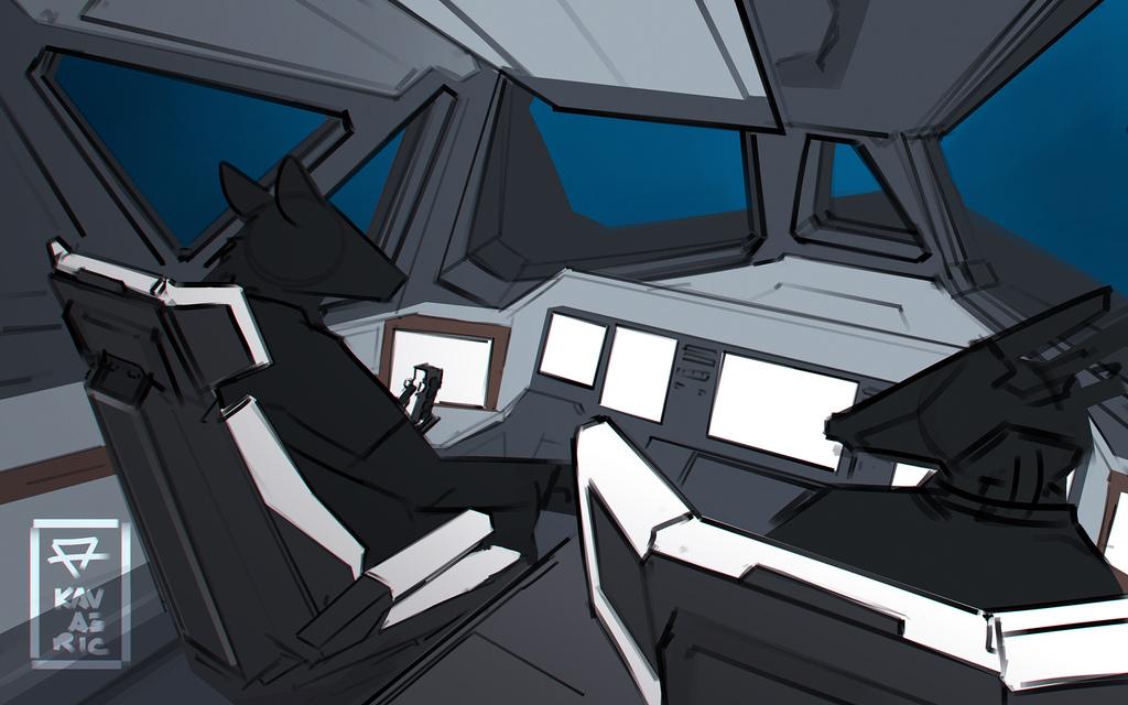 Aetherliner cockpit