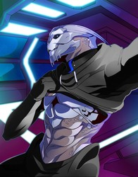 Turian Abs (COMMISSION)