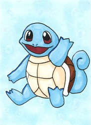 Supernova 2014 ACEO - Squirtle