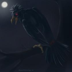 Pokemon Drawlloween - 11 Raven