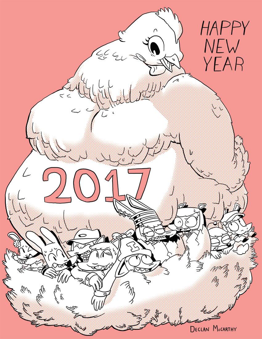 Happy 2017, chicken.